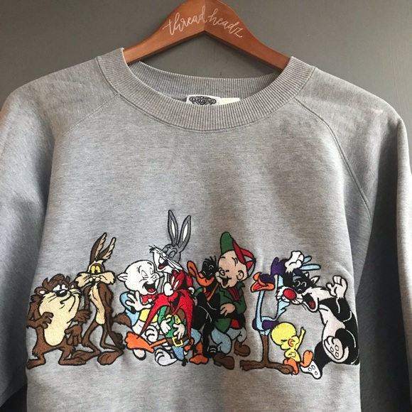db49585c 1992 Looney Tunes Warner Bros. Vintage Crewneck